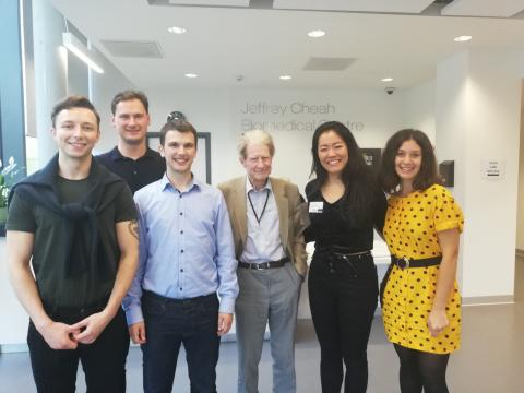 Cmmtt with Sir John Gurdon